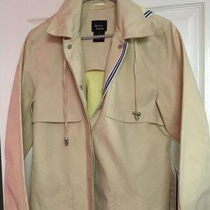 Dennis Basso water-repellent vintage trench coat M